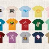 様々な半袖Tシャツ